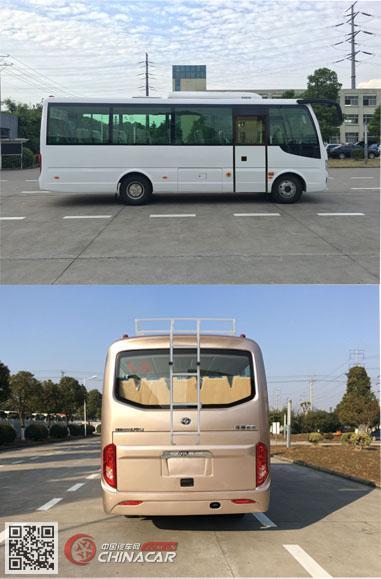 华新牌HM6733LFD5J型客车图片2