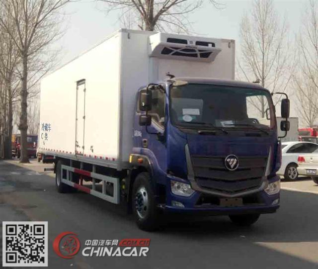 福田牌BJ5186XLC-A3型冷藏车图片