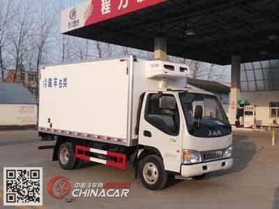程力威牌CLW5043XLCH5型冷藏车图片