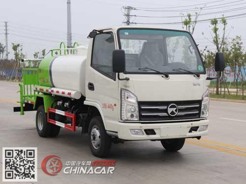 华专一牌EHY5040GPSKM型绿化喷洒车图片1