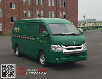 建康牌NJC5030XYZBEV型纯电动邮政车图片