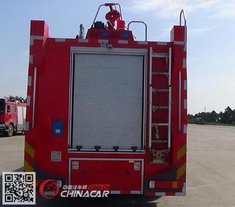 光通牌MX5250GXFGF60型干粉消防车图片2