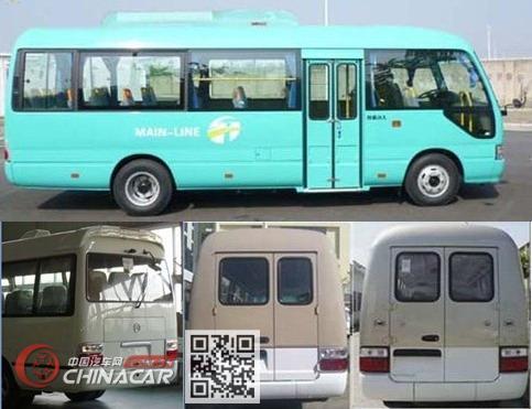 金旅牌XML6700J15型客车图片4