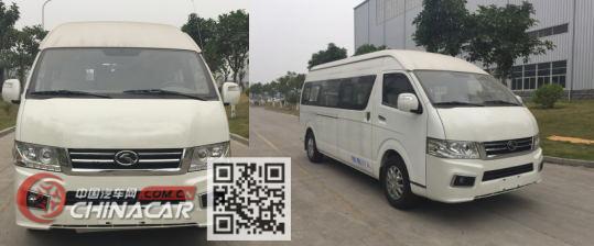 金龙牌XMQ6600BED5型轻型客车图片4