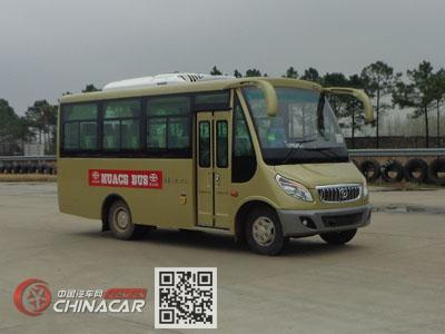 华新牌HM6602LFD5J型客车图片1