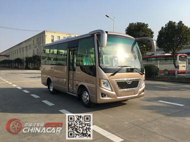 华新牌HM6605LFD5J型客车图片1