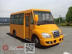 华新牌HM6550CFD5J型城市客车图片1