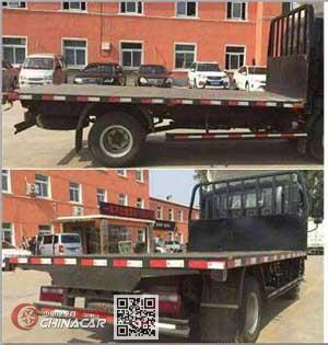 华通牌HCQ5161TPBHF5型平板运输车图片3