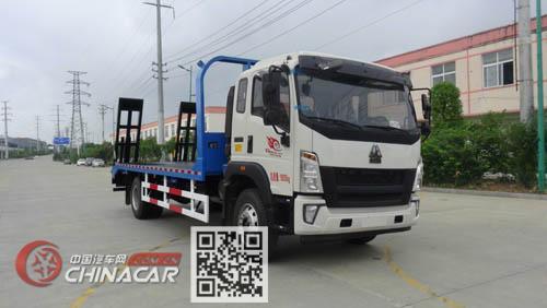 华通牌HCQ5185TPBZZ5型平板运输车图片