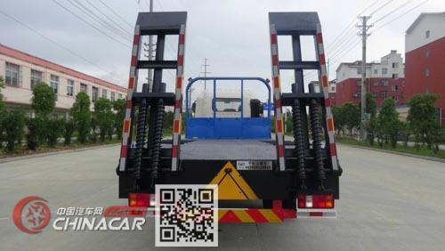 华通牌HCQ5185TPBZZ5型平板运输车图片2