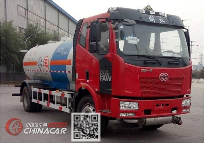 安瑞科牌HGJ5141GYQ型液化气体运输车图片