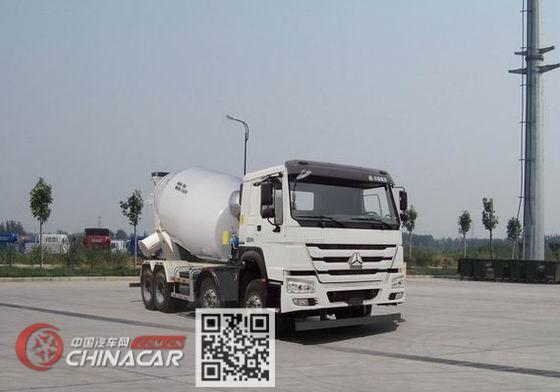 豪沃牌ZZ5317GJBN3267E1型混凝土搅拌运输车图片1