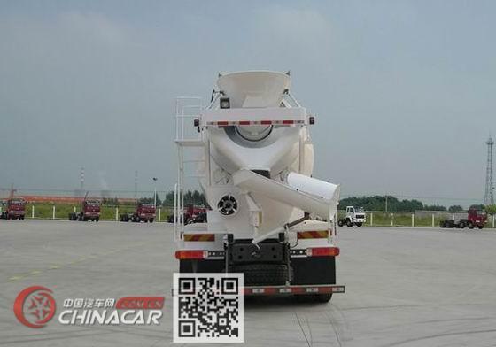 豪沃牌ZZ5317GJBN3267E1型混凝土搅拌运输车图片2