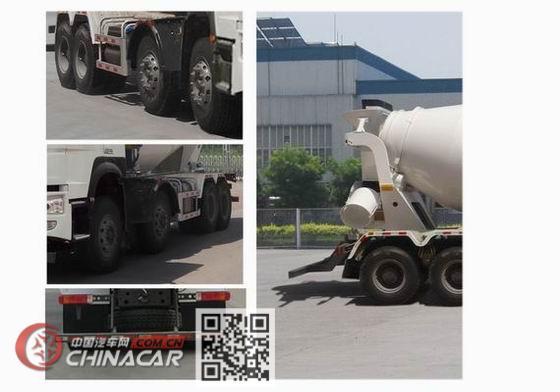 豪沃牌ZZ5317GJBN3267E1型混凝土搅拌运输车图片3