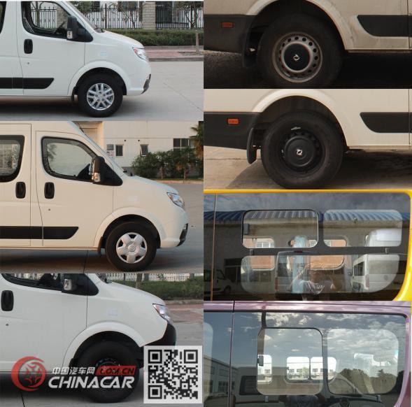东风牌EQ6641WABDE型客车图片3