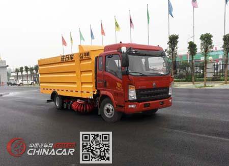 华威驰乐牌SGZ5100TXSZZ5型洗扫车图片