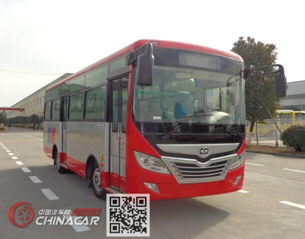 华新牌HM6735CFD5J型城市客车图片1