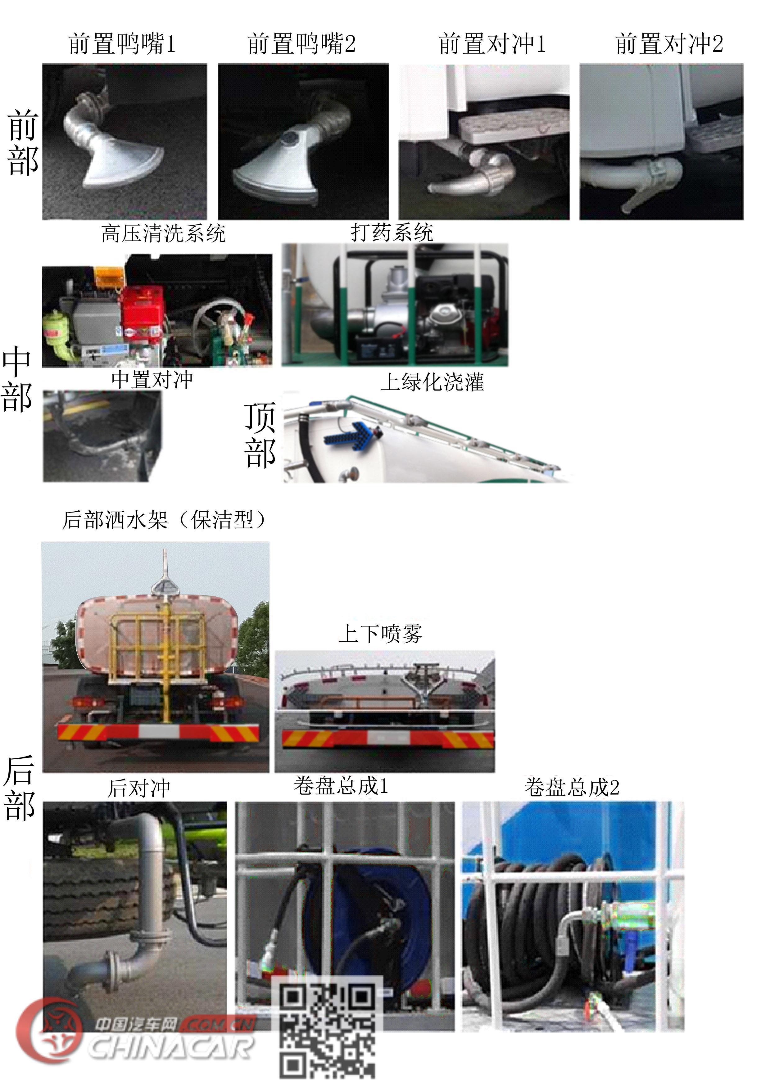 森源牌SMQ5180GQXDFE5型清洗车图片3