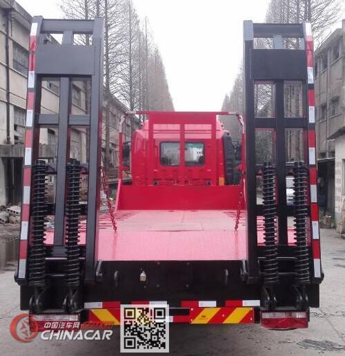 大力牌DLQ5181TPBXK5型平板运输车图片3