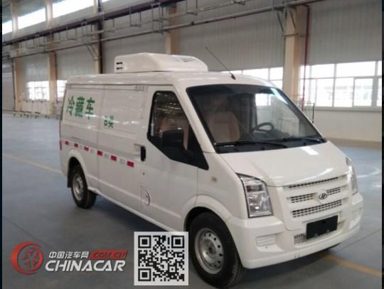 九州牌SYC5030XLCABEV型纯电动冷藏车图片