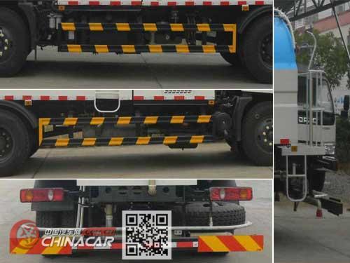 华通牌HCQ5185GQXT5型清洗车图片4
