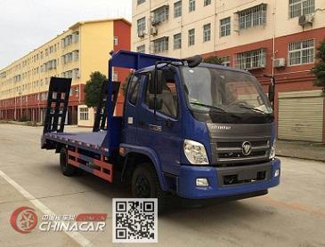 程力威牌CLW5100TPBB5型平板运输车图片