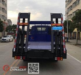 程力威牌CLW5100TPBB5型平板运输车图片2