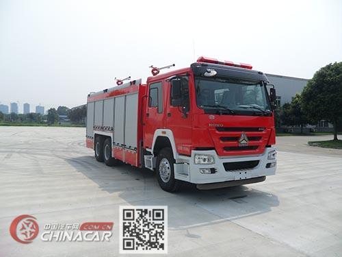 川消牌SXF5240GXFGF60/HW型干粉消防车图片1