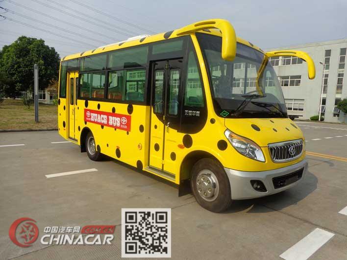 华新牌HM6661CFN5X型城市客车图片1