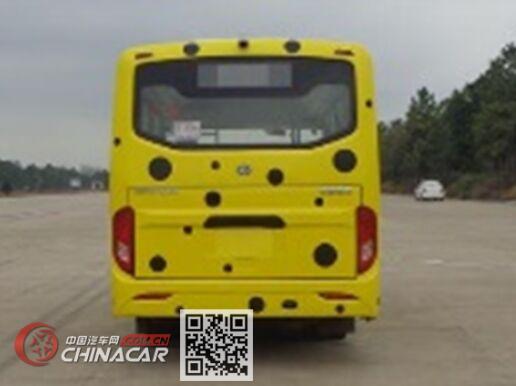 华新牌HM6601CFD5X型城市客车图片3
