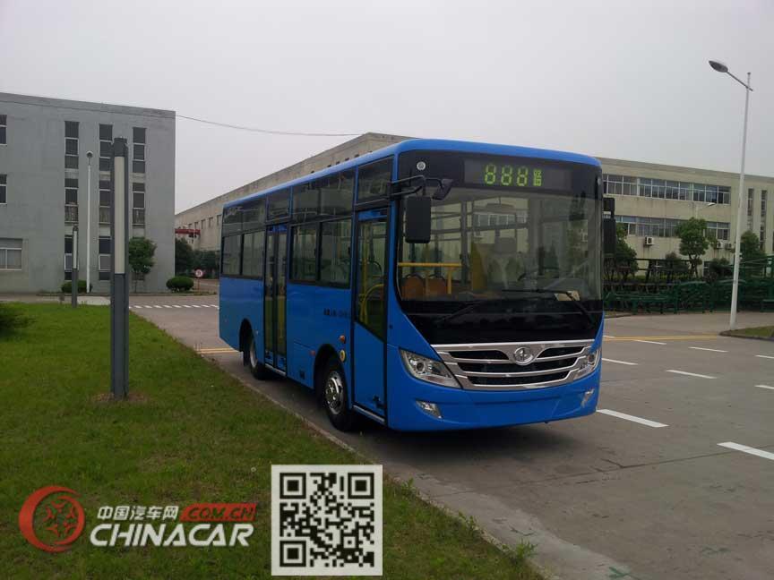 华新牌HM6780CFD5X型城市客车图片1