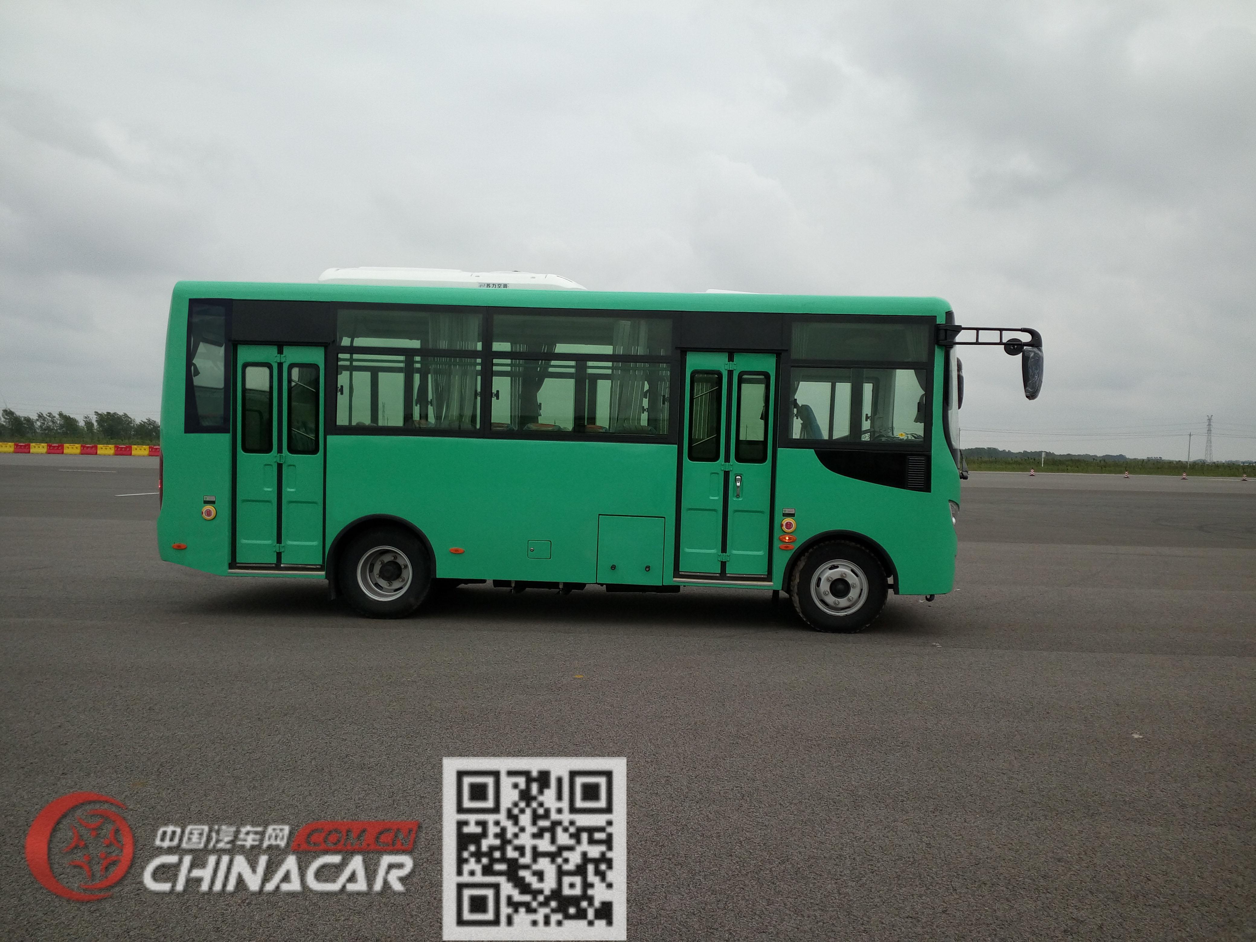 华新牌HM6663CFD5J型城市客车图片3