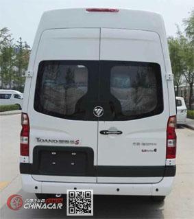 福田牌BJ6608B2DDA-V1型轻型客车图片3
