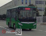 华新牌HM6760CRD5J型城市客车图片1