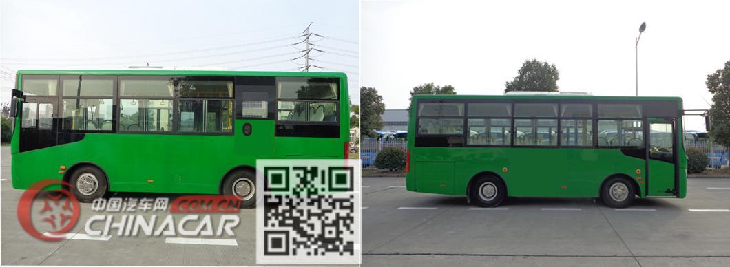华新牌HM6760CRD5J型城市客车图片2