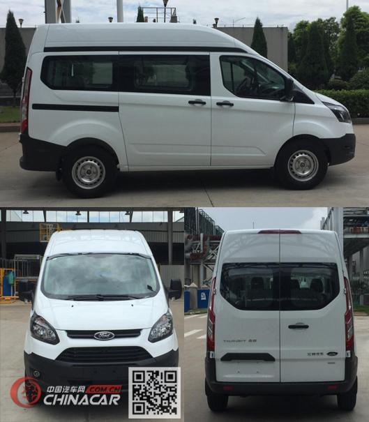 江铃全顺牌JX6503PG-L5型多用途乘用车图片3