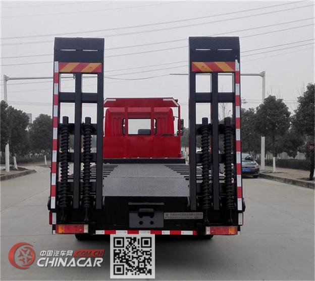 东风牌DFZ5310TPBSZ5D1型平板运输车图片3