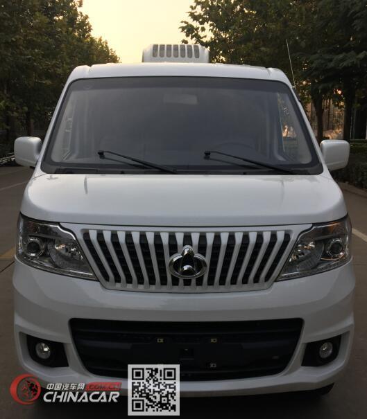 长安牌SC5023XLCA5型冷藏车图片3
