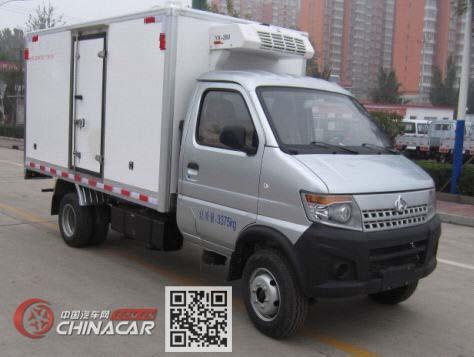 长安牌SC5035XLCDCGB5型冷藏车图片1