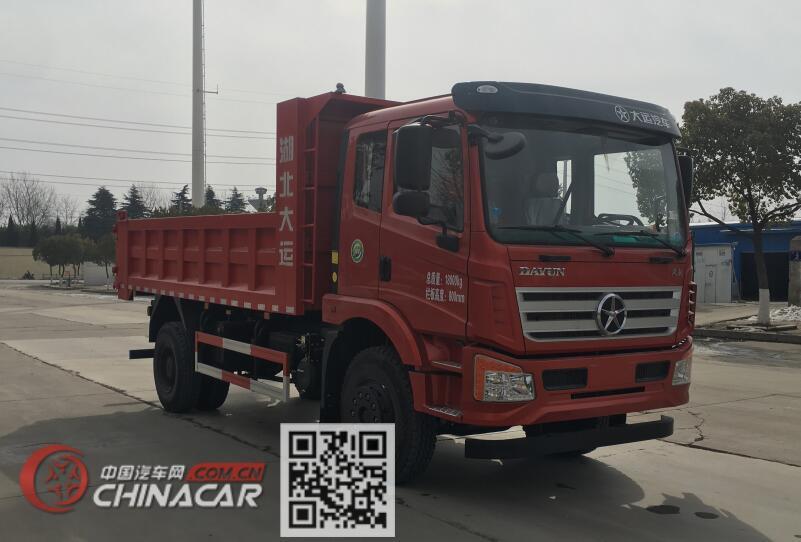 大运牌dyq3183d5ab型自卸汽车图片