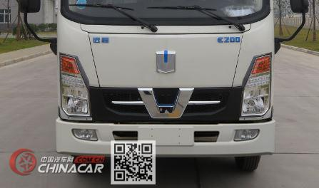 远程牌DNC5077XLCBEV02型纯电动冷藏车图片2