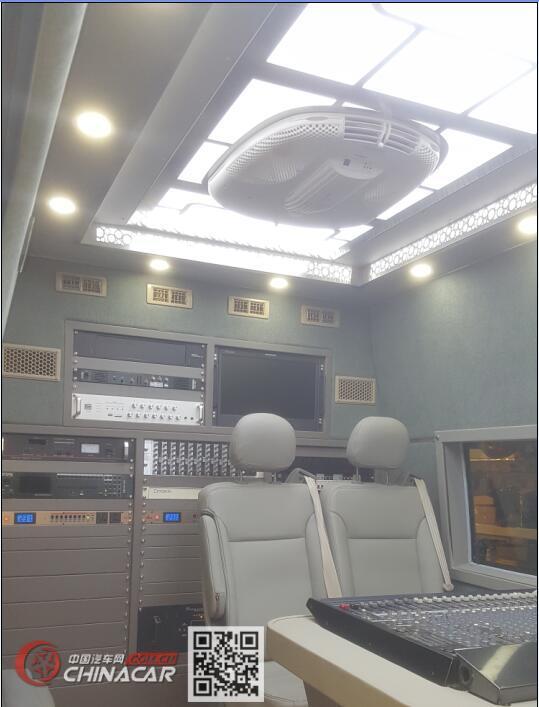 白云牌BY5040XDS型电视车图片2