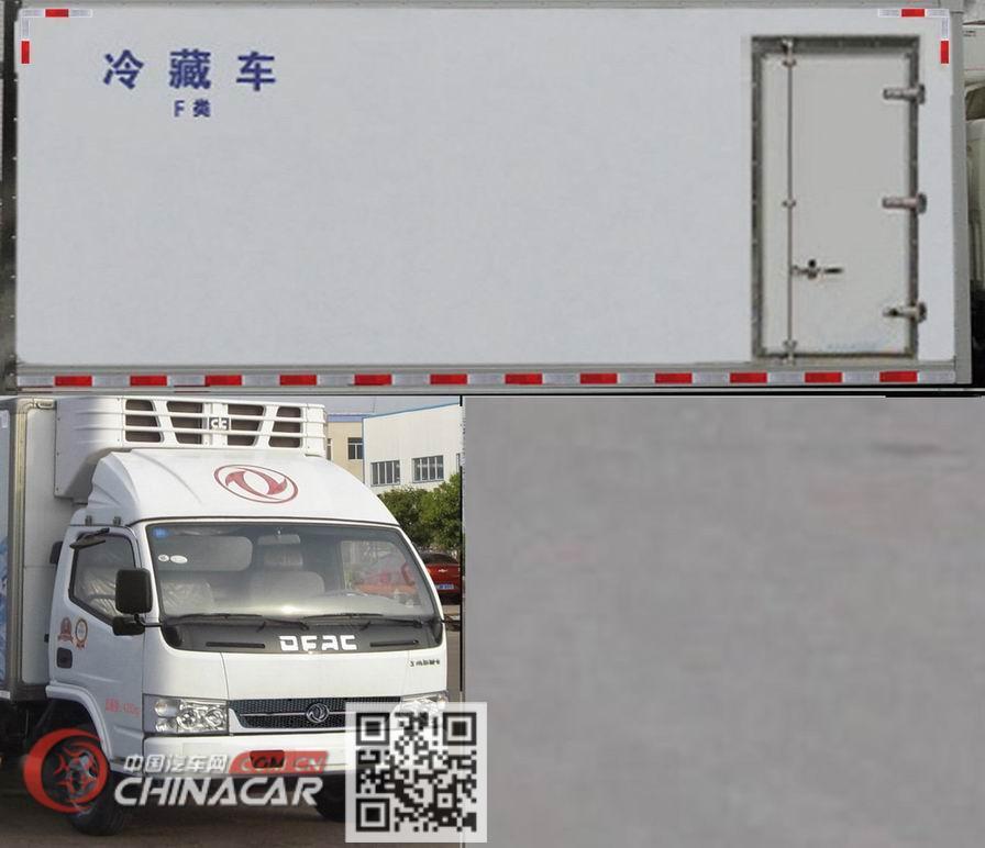 东风牌EQ5041XLC3BDFAC型冷藏车图片2