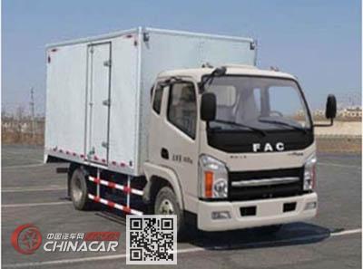 一汽凌河牌CAL5040XXYDCRE5型厢式运输车图片
