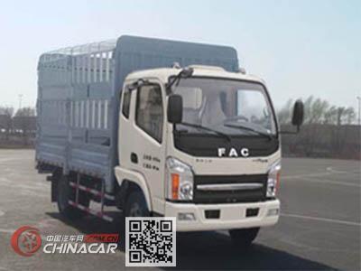 一汽凌河牌CAL5040CCYDCRE5型仓栅式运输车图片