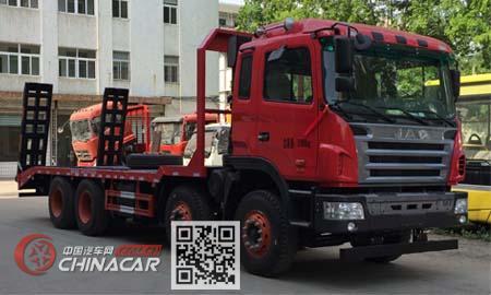 大力牌DLQ5310TPBY5型平板运输车图片
