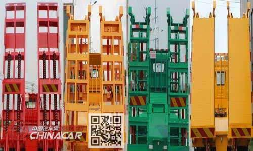 大力牌DLQ5310TPBY5型平板运输车图片4