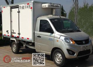 多士星牌JHW5030XLCB5型冷藏车图片3