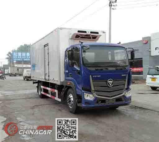 福田牌BJ5166XLC-A4型冷藏车图片