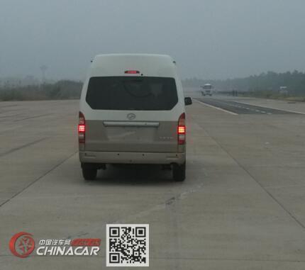大马牌HKL6600AB型轻型客车图片4